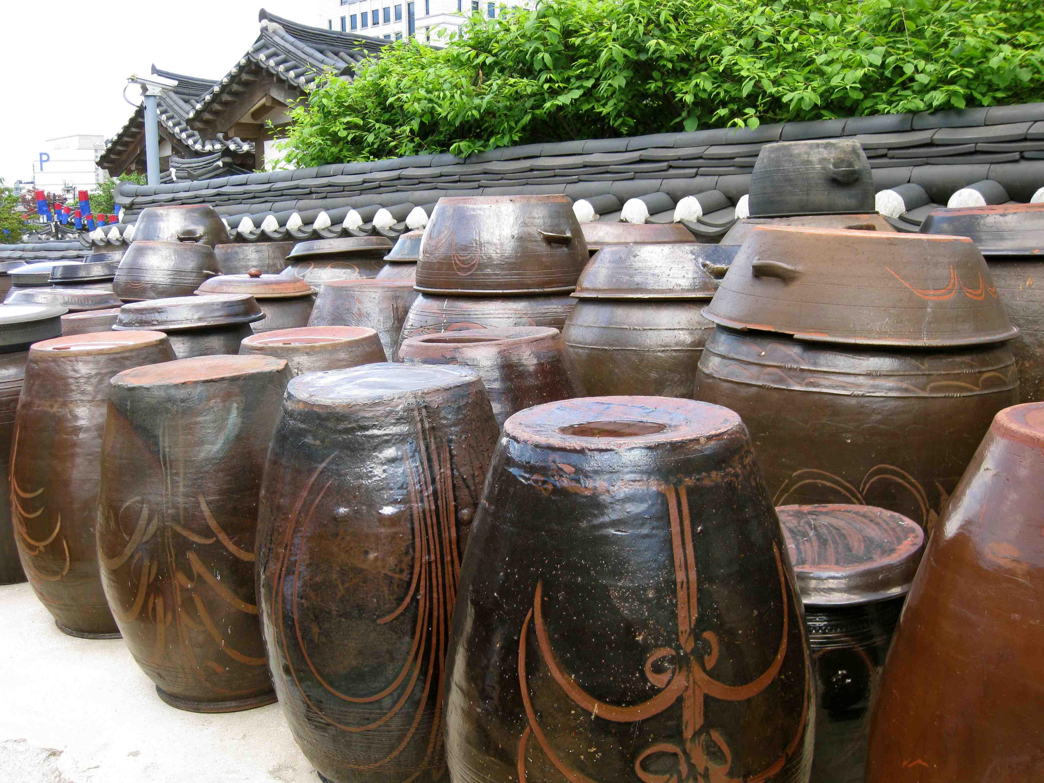 traditional ceramic ur...